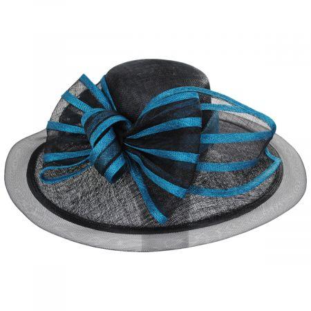 Jeltrim Sinamay Straw Big Brim Swinger Hat alternate view 9