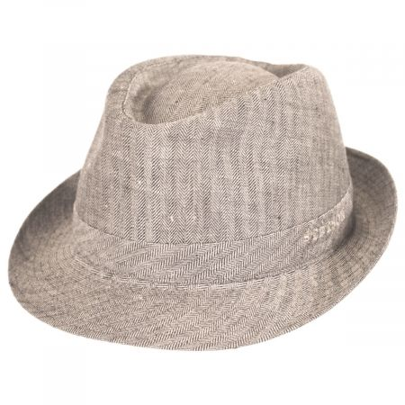 Osceola Linen Fedora Hat alternate view 9