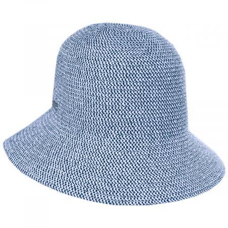 Gossamer Toyo Straw Blend Cloche Hat alternate view 6