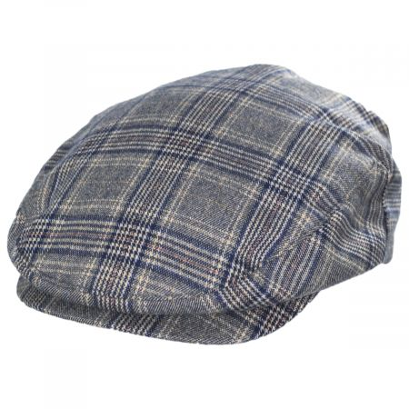 Brixton Hats Hooligan Plaid Cotton Ivy Cap