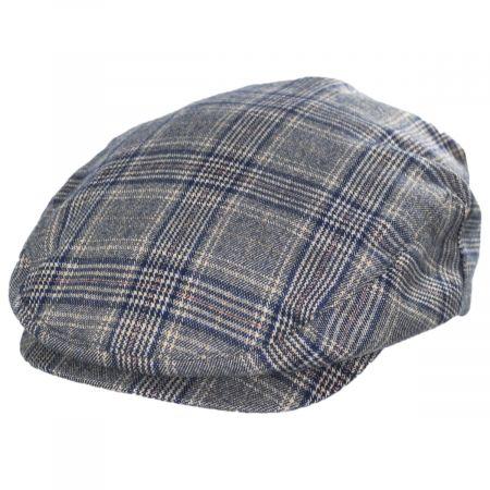 Brixton Hats Hooligan Plaid Cotton Ivy Cap