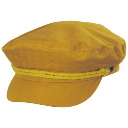 Solid Cotton Fiddler Cap