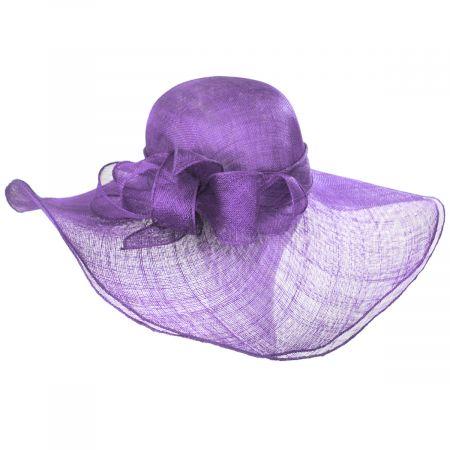 Beechmont Sinamay Straw Swinger Hat alternate view 13