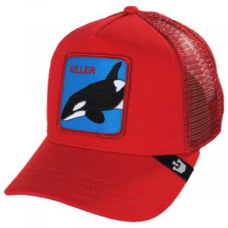 Goorin Bros Killer Whale Mesh Trucker Snapback Baseball Cap