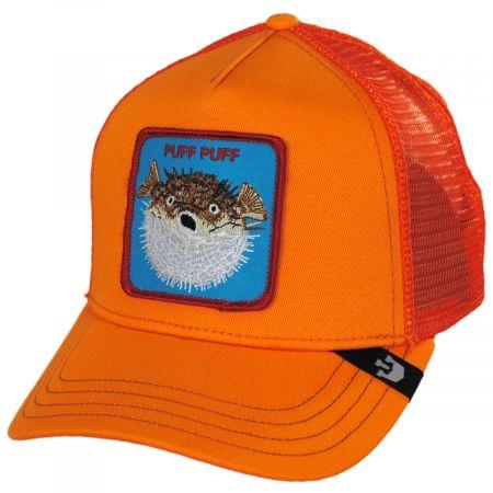 Puff Mesh Trucker Snapback Baseball Cap