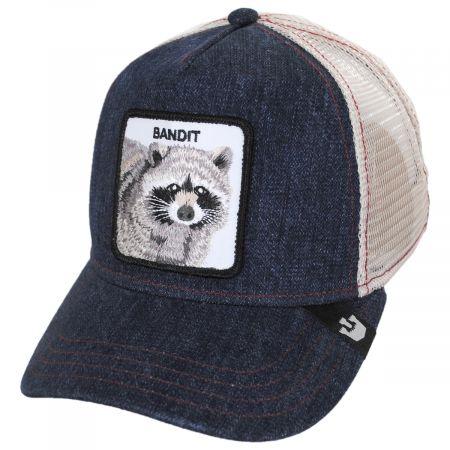 Goorin Bros Bandit Mesh Trucker Snapback Baseball Cap