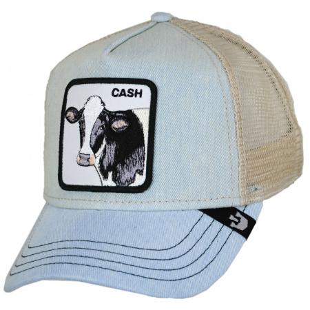 Goorin Bros Cash Mesh Trucker Snapback Baseball Cap
