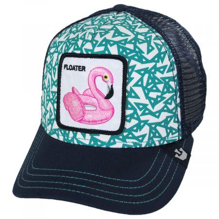 Floater Mesh Trucker Snapback Baseball Cap