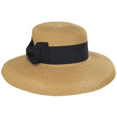 Jeanne Simmons Toyo Straw Lampshade Hat