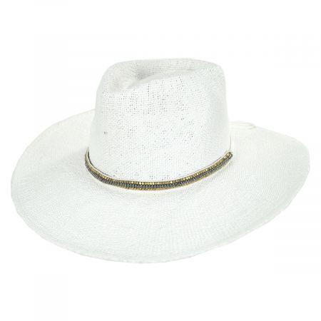 Nikki Beach Monte Carlo Toyo Straw Rancher Hat
