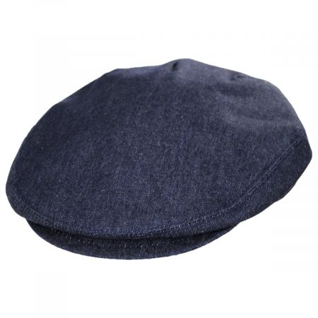 Stefeno Curry Denim Cotton and Linen Ivy Cap