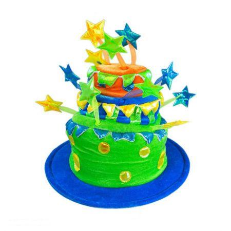 Elope Celebration Cake Hat