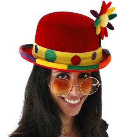 Elope Clown Bowler Hat