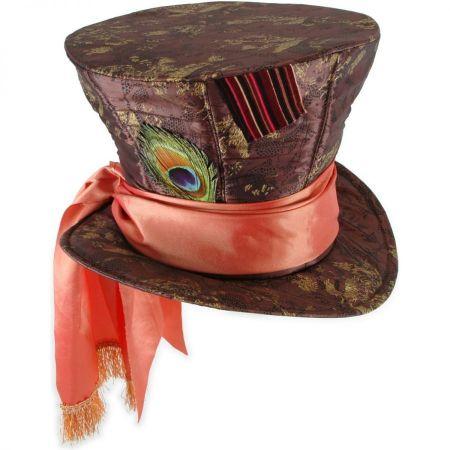 Alice in Wonderland Mad Hatter Top Hat alternate view 1
