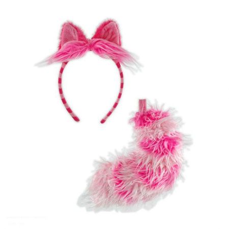 Disney Cheshire Ears Headband  & Tail