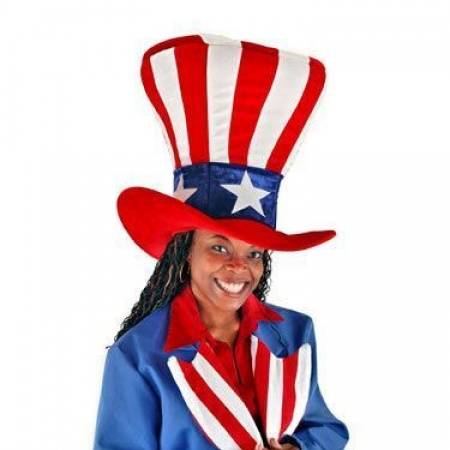 Elope Giant Uncle Sam Top Hat