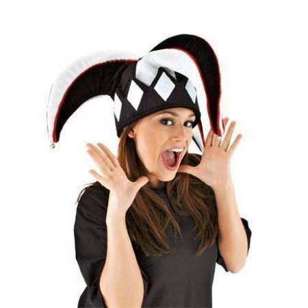 Elope Harlequin Jester Hat