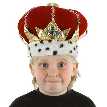 Kids' King Hat