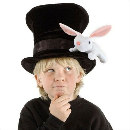 Kids' Magician Top Hat