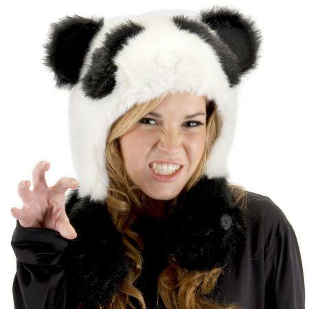 Panda Bear Hug Trapper Hat alternate view 1