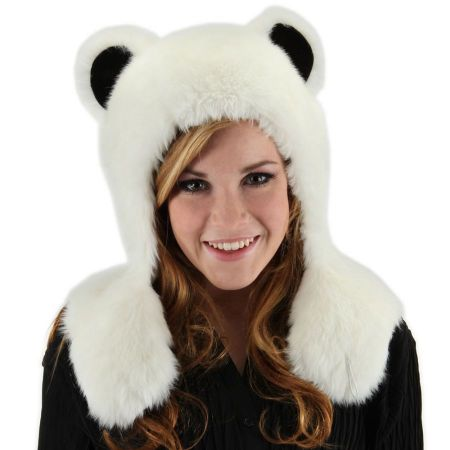 Polar Bear Hug Trapper Hat