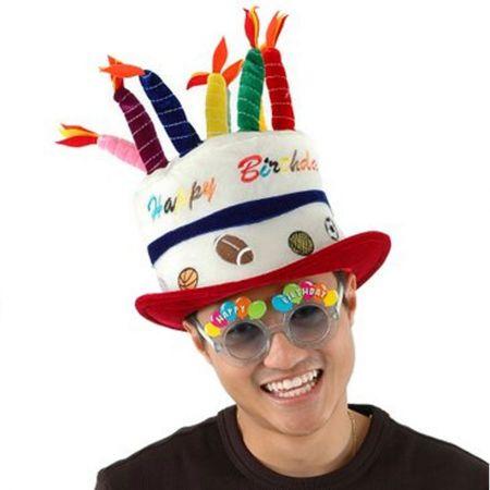 Sport Birthday Cake Hat-Adult