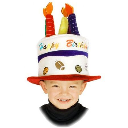 Sport Birthday Cake Hat-Child