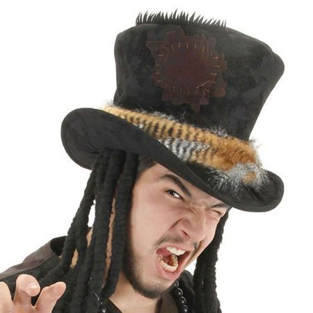 Witch Doctor Top Hat alternate view 1