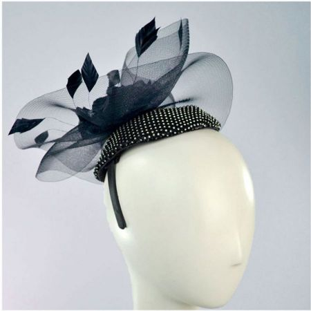 Sequin Pillbox Fascinator Hat