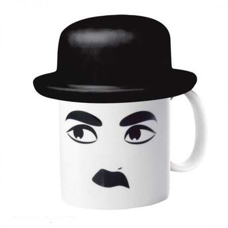 E-My Charlie Mug with Bowler Hat