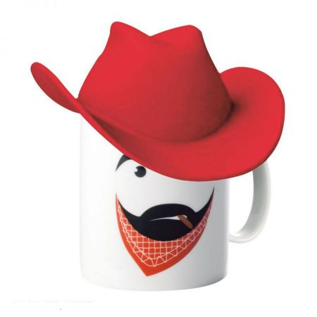 Clint Mug with Cowboy Hat