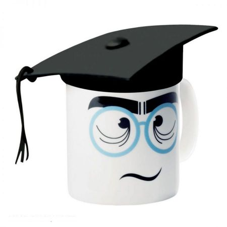 E-My Nerd Mug with Mortarboard