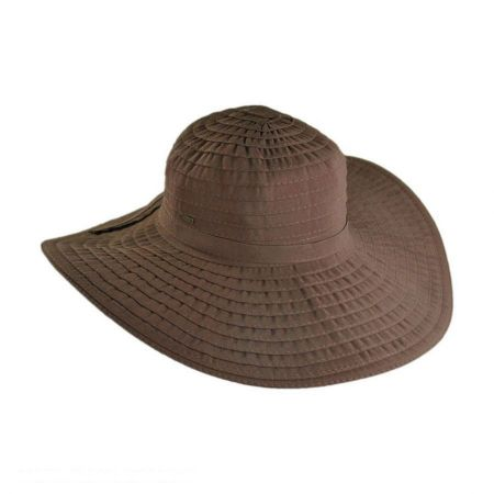 Travel Escape Ribbon Crusher Hat