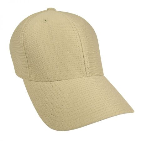 cool dry fitted baseball cap low profile hats