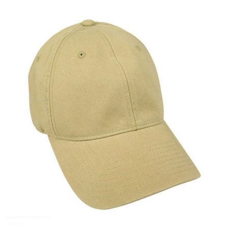 Flexfit Garment Washed Twill LoPro 7 3/8 to 8 FlexFit Fitted Baseball Cap