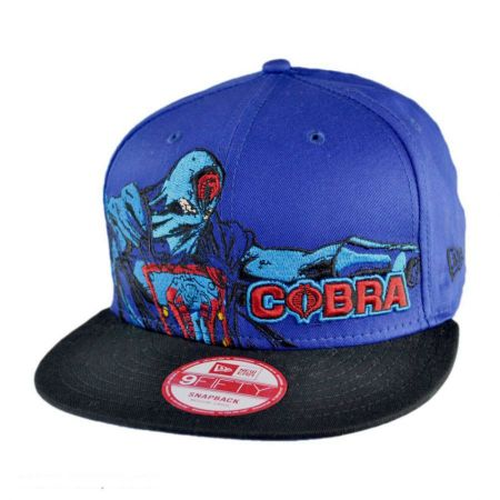 New Era G.I. Joe Cobra Commander Heroic Stance 9Fifty Snapback Baseball Cap