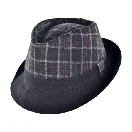 Manhattan C-Crown Fedora Hat