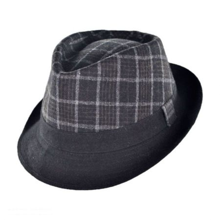 Geoffrey Beene Manhattan C-Crown Fedora Hat