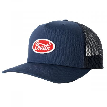 Brixton Hats Parson Mesh Trucker Snapback Baseball Cap