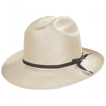 Open Road Shantung Straw Western Hat alternate view 13