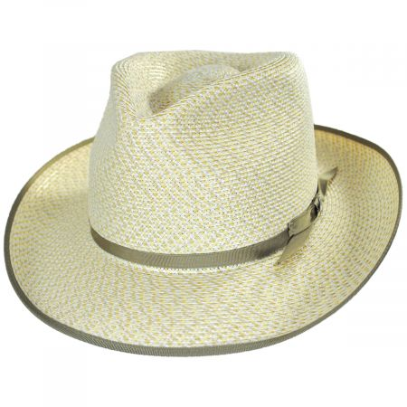 Stetson Stratoliner Milan Straw Mix Fedora Hat