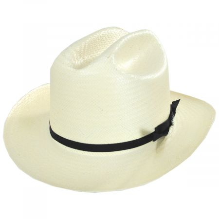 Open Road 6X Shantung Straw Western Hat