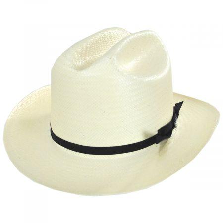Stetson Open Road 6X Shantung Straw Western Hat
