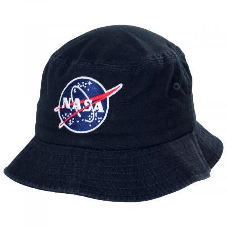 American Needle NASA Cotton Twill Bucket Hat