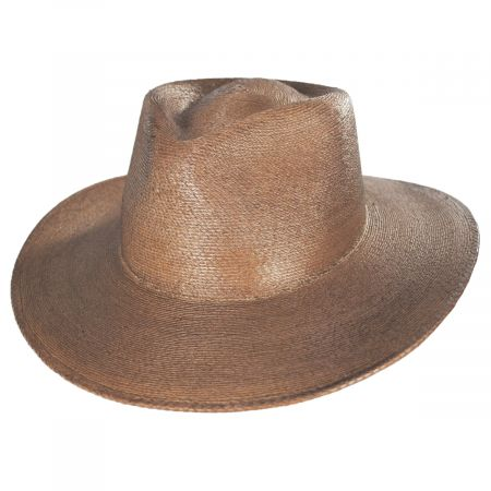Brixton Hats Marco Palm Straw Fedora Hat