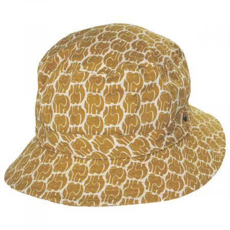Brixton Hats Hardy Elephant Cotton Bucket Hat