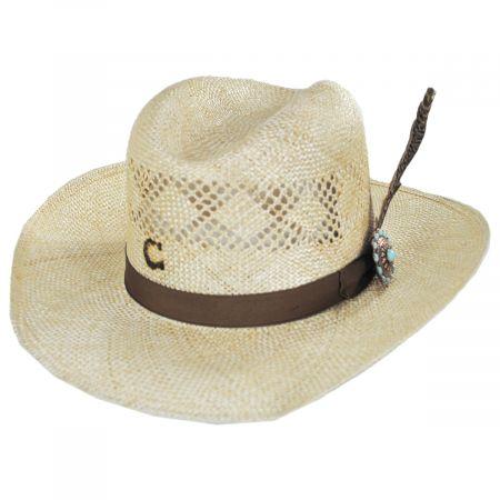 Charlie 1 Horse Stud Finder Sisal Straw Western Hat