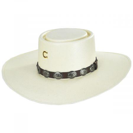 Charlie 1 Horse Sierra Desert Shantung Straw Planter Hat