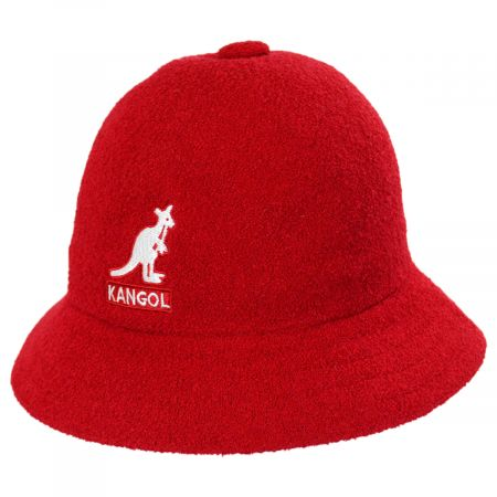 Kangol Big Logo Casual Bucket Hat