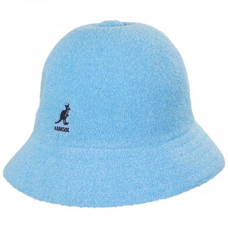 Kangol Bermuda Casual Light Blue Bucket Hat